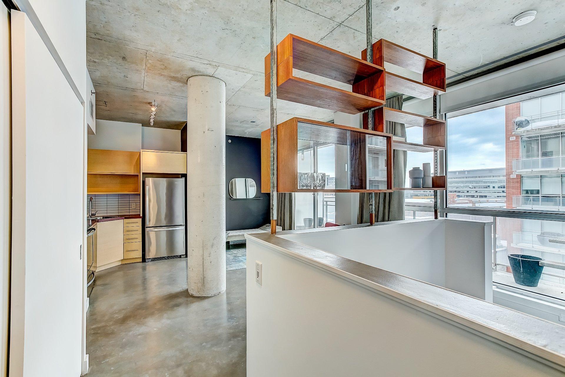 Loft semi meubl vendre au centre ville de montreal for Meuble a montreal
