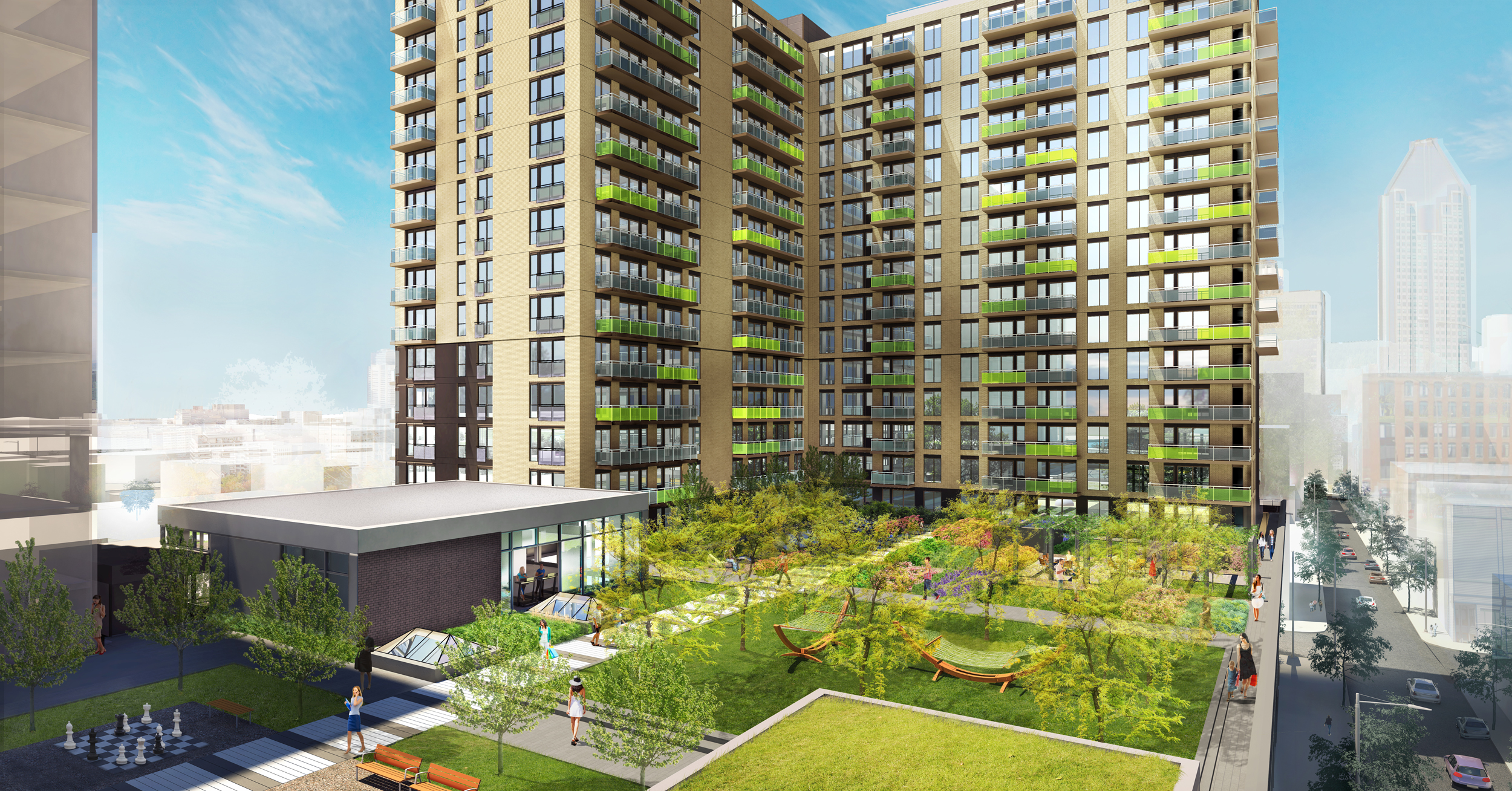 District Griffin Griffintown Condo Montreal Mcgill Real