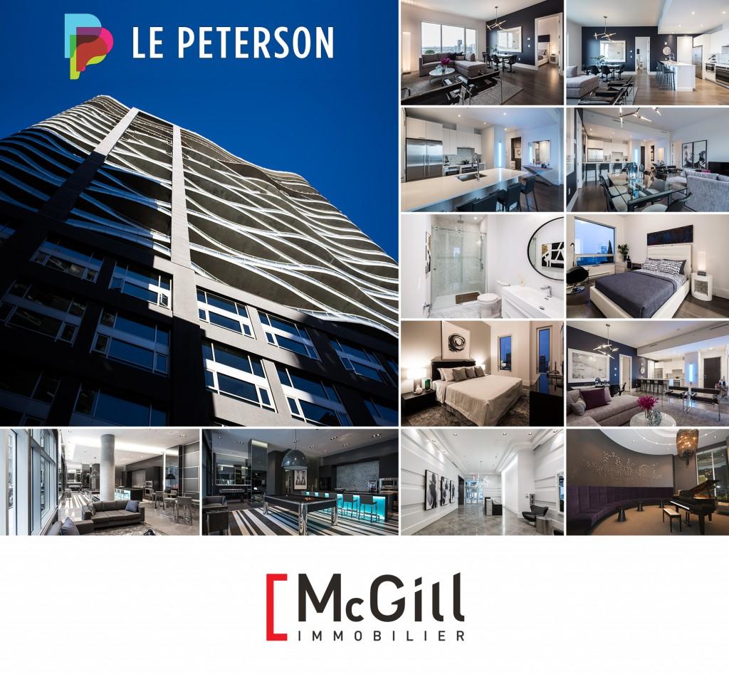 Peterson Condo Montreal McGill immobilier