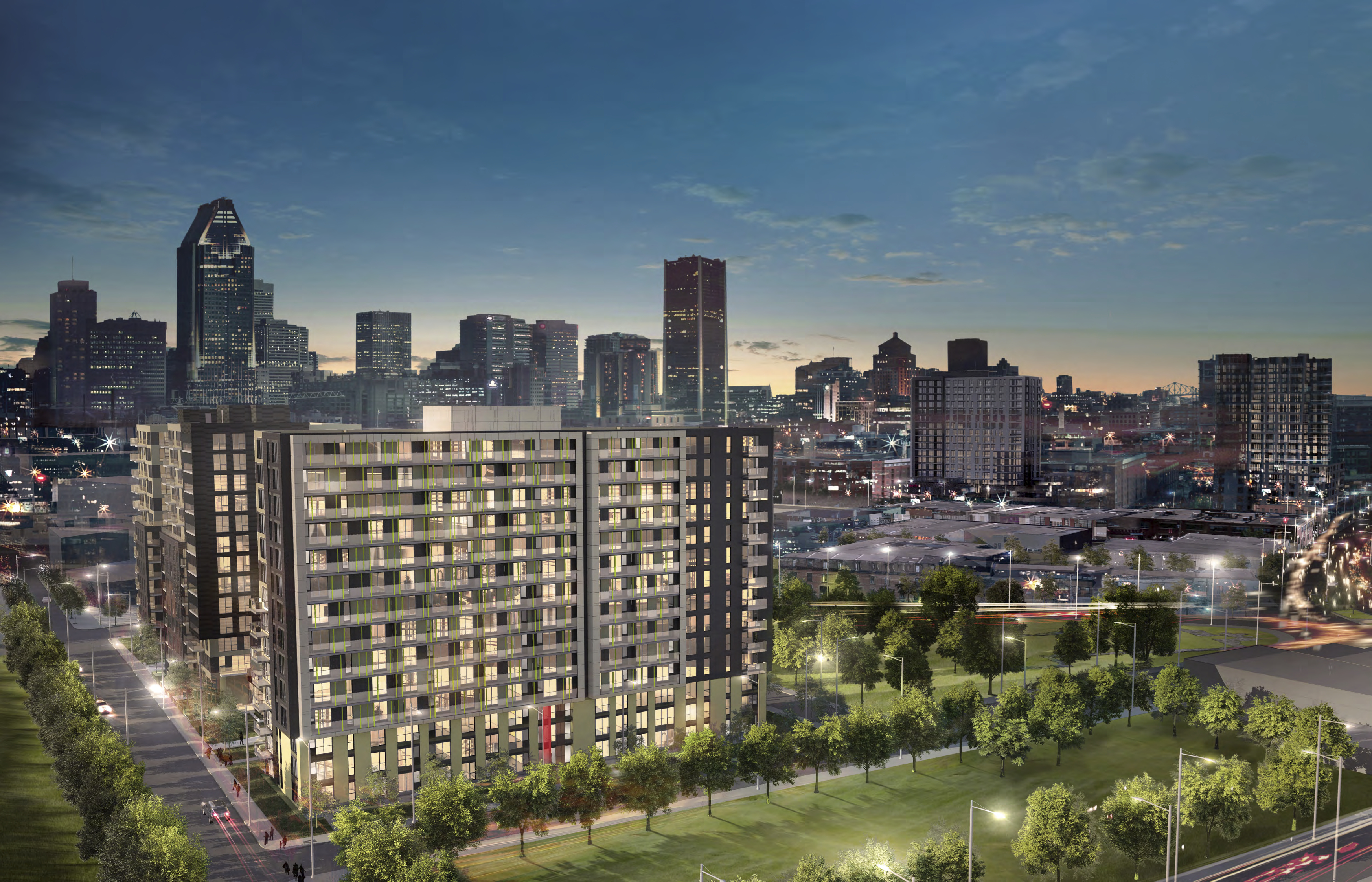District griffin phase 5 condo griffintown mcgill immobilier for Vente piscine montreal