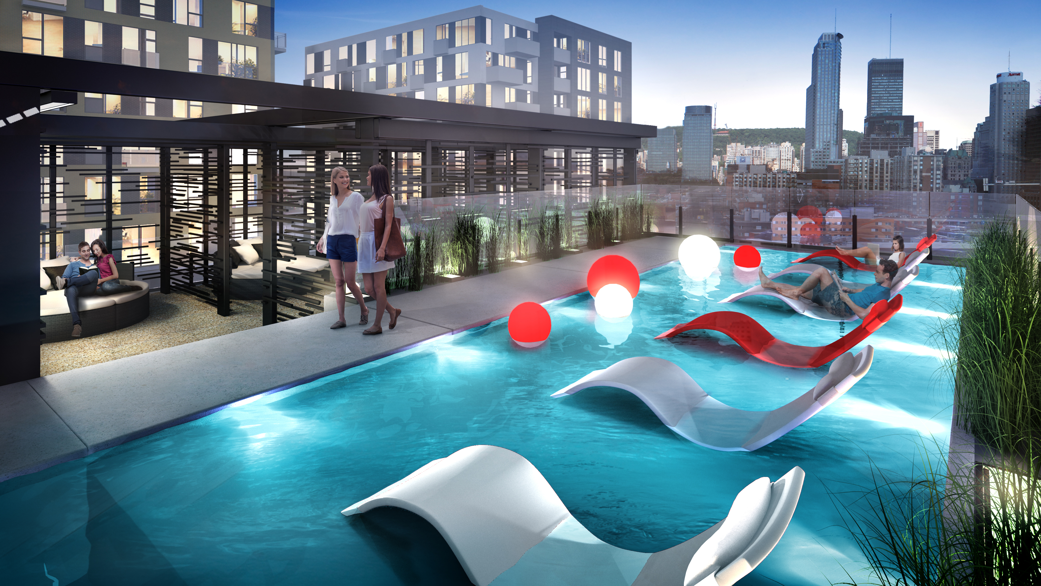 District griffin phase 5 condo griffintown mcgill immobilier for Club piscine montreal