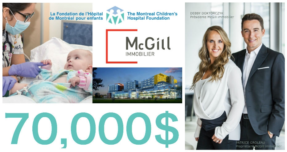 Debby Doktorczyk Patrice Groleau McGill immobilier Bal Masqué Incognito Masked Ball Children's