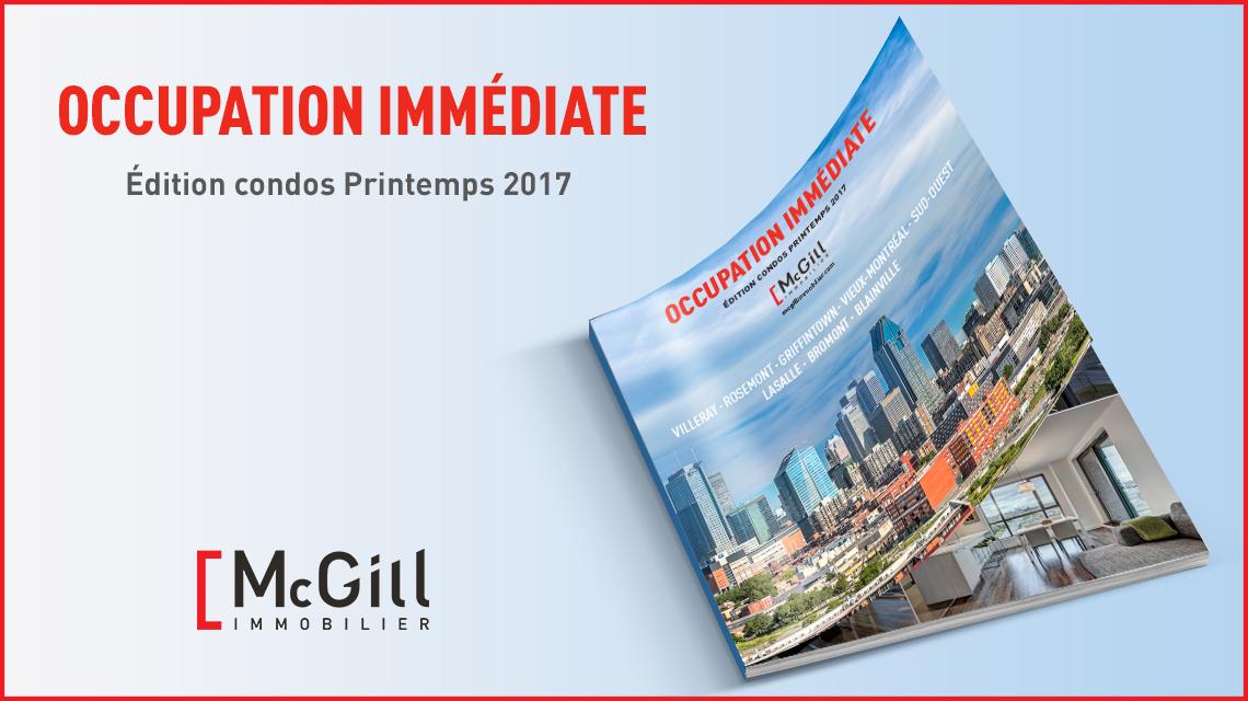 Occupation Immediate Printemps 2017
