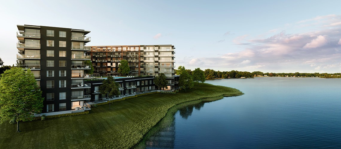 luxeo phase 2 new appartments ile perrot