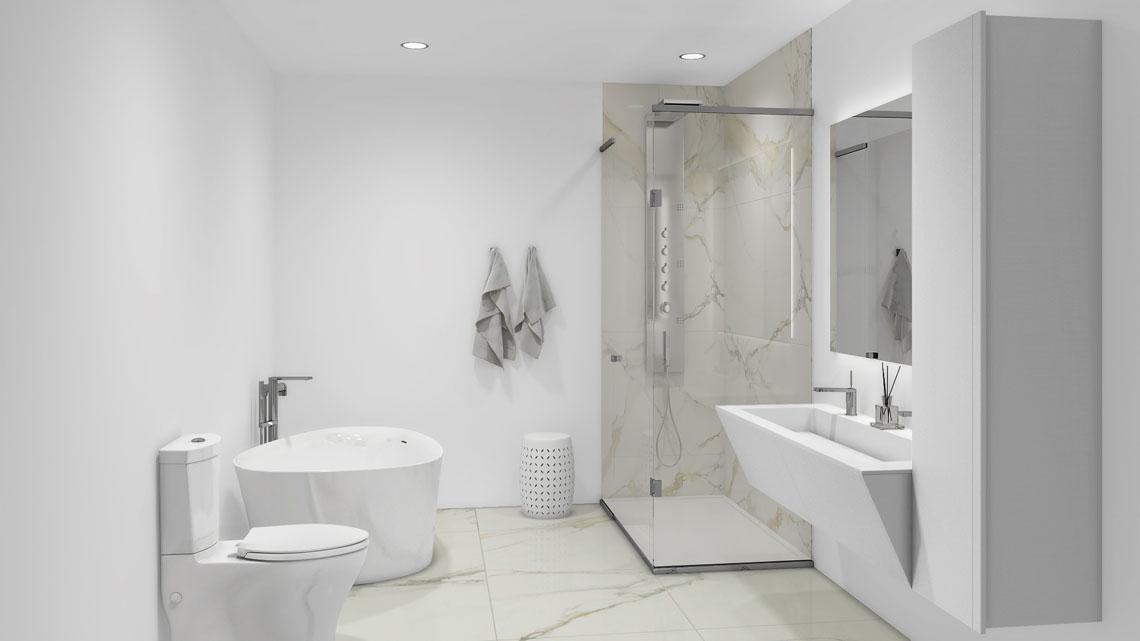 Salle de bain Aquablu