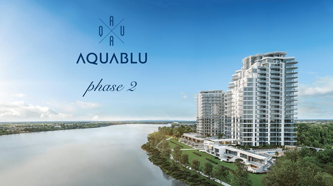 Aquablu condos laval