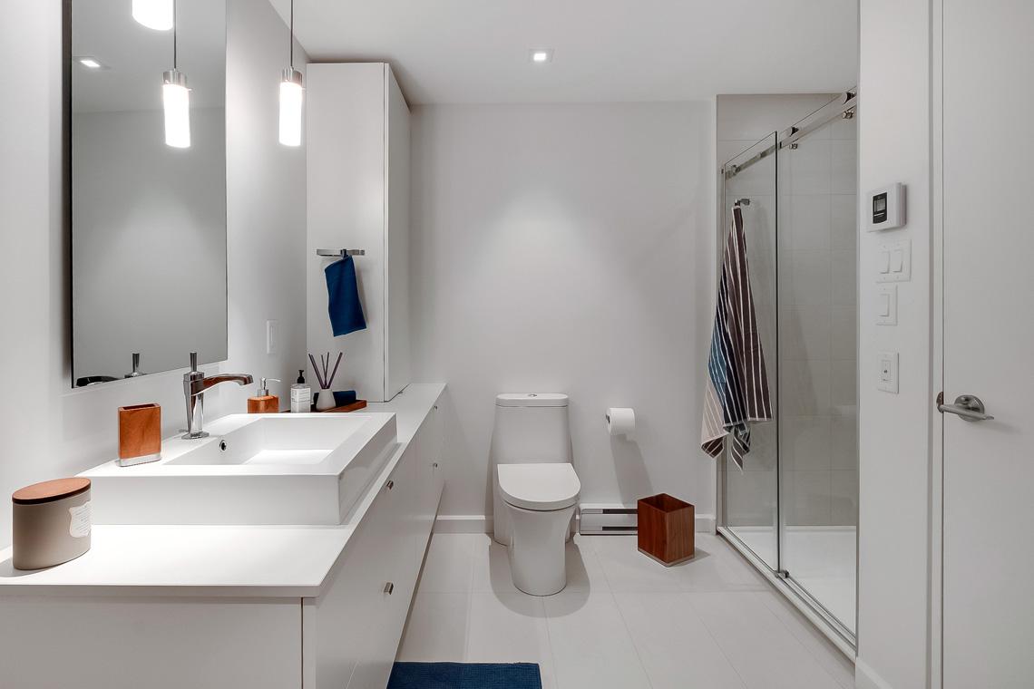 condos lunique salle de bain