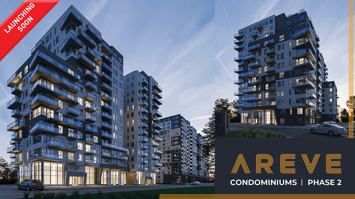 Areve phase 2 project new condos for sale Lasalle