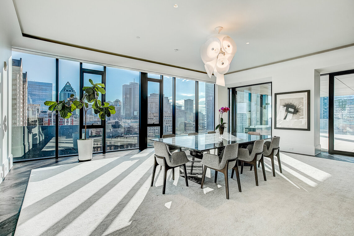Immobilier de luxe four seasons montreal