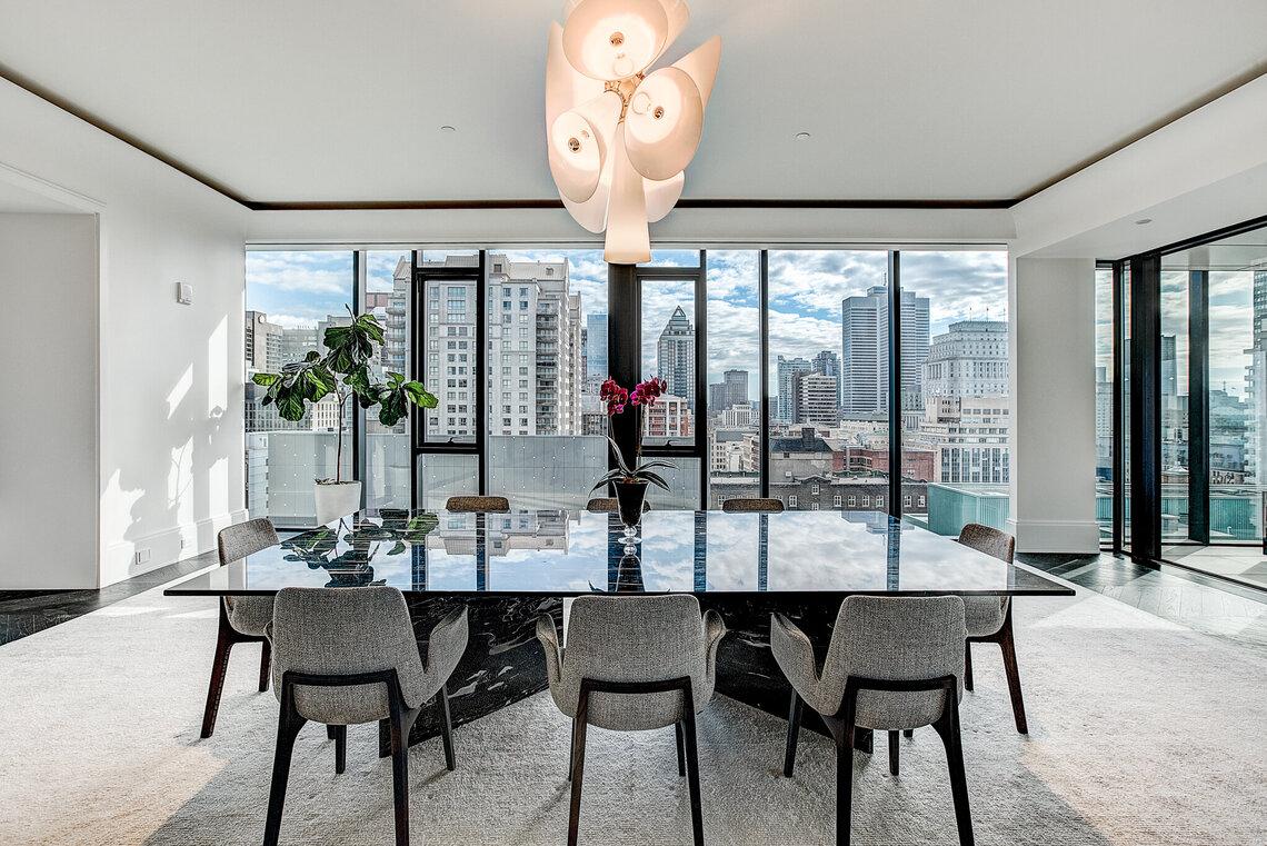 Projet de condo de riche montreal centre ville