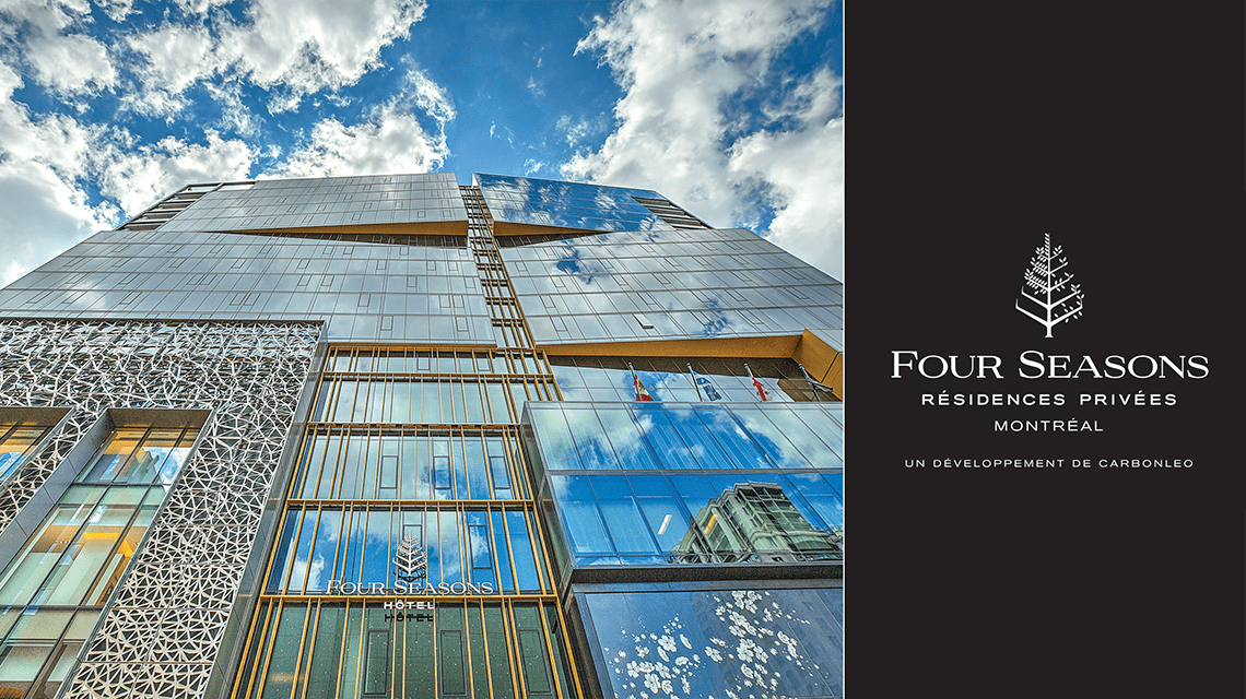 four seasons montreal residences centre ville