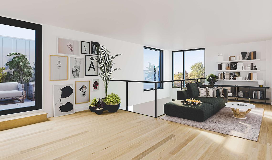 penthouse a vendre a rosemont