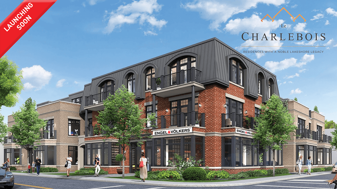 Le Charlebois new condo project west island