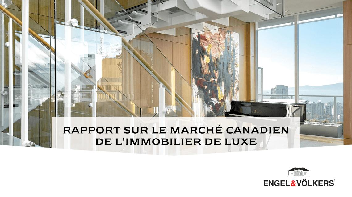 Rapport immobilier de Luxe Montreal 2020