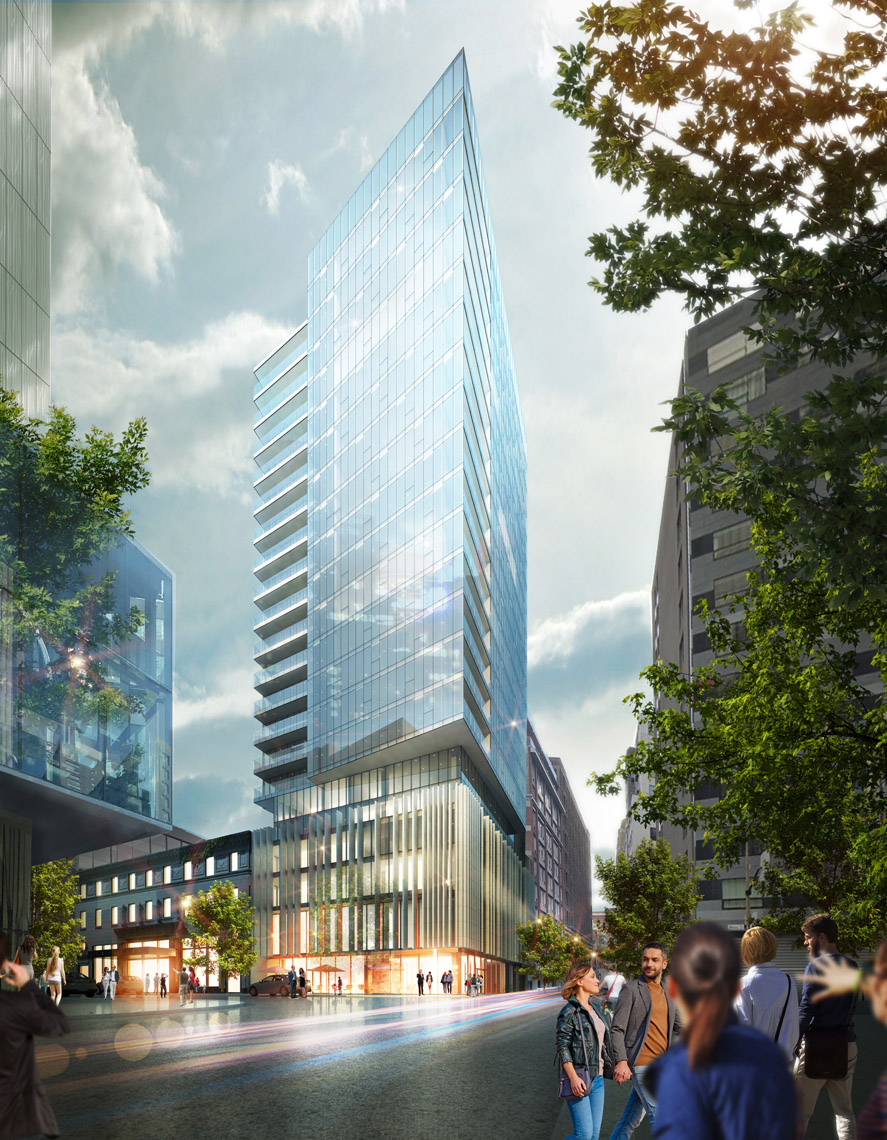 imperia condominiums centre ville montreal