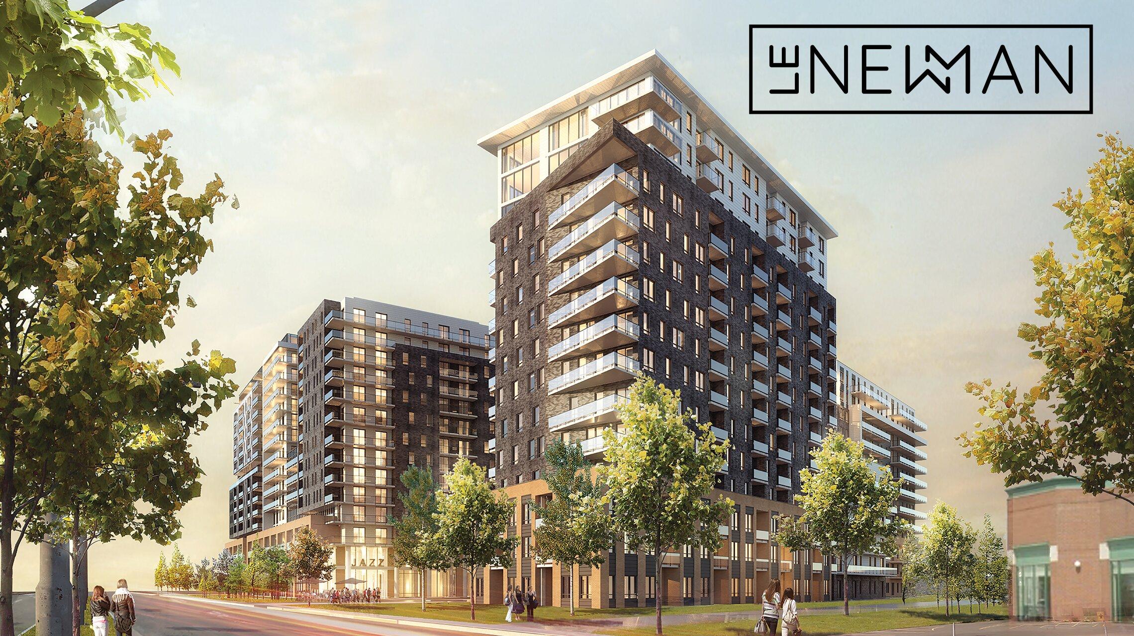 Le Newman condos neufs Montreal Lasalle