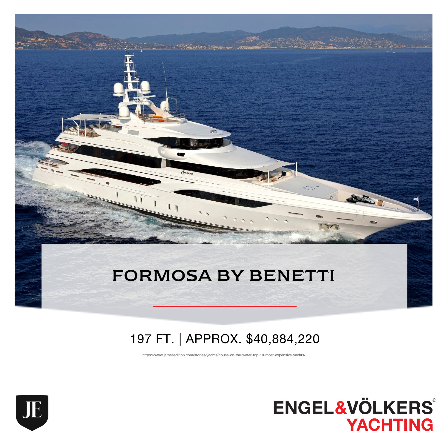 Formosa by Benetti YACHT ENGEL & VOLKERS YACHTING