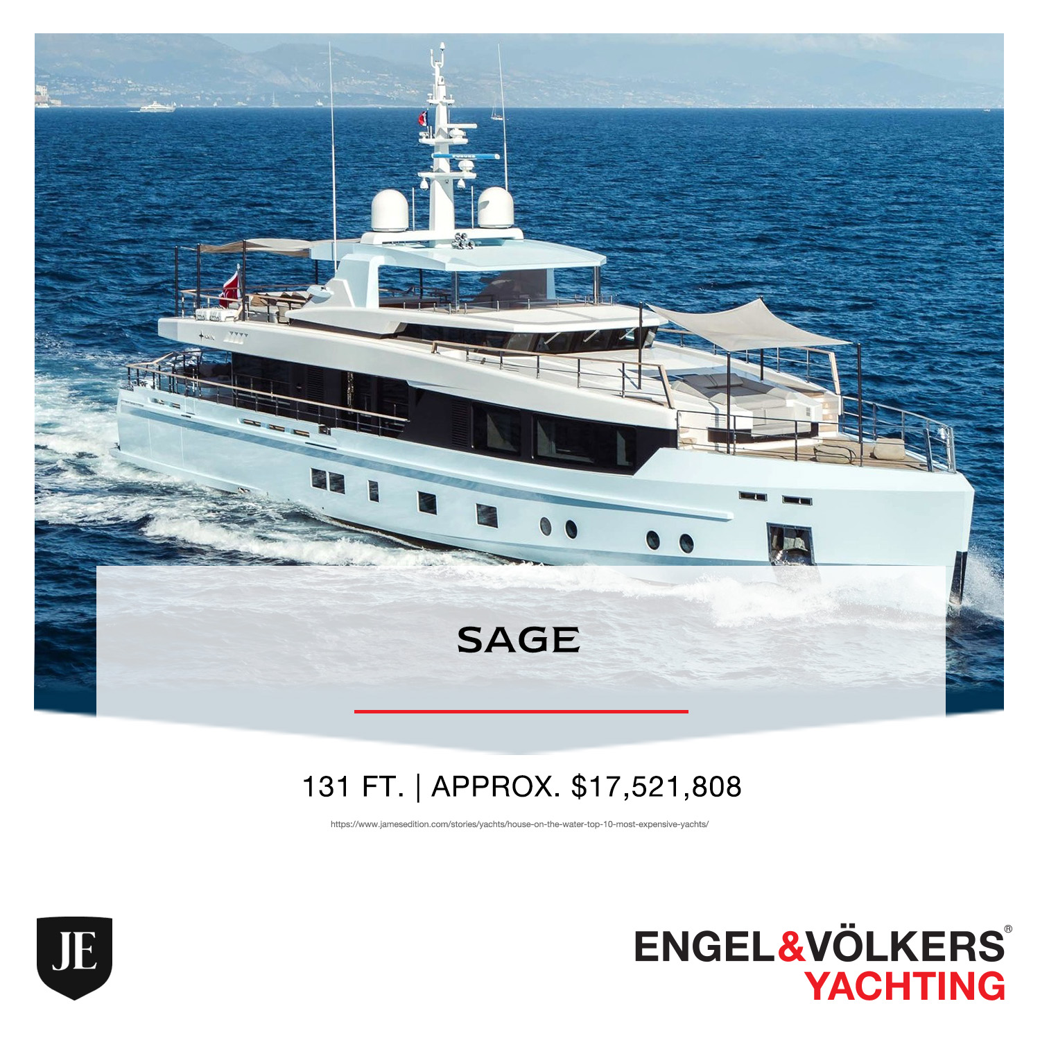 Sage YACHT ENGEL & VOLKERS YACHTING