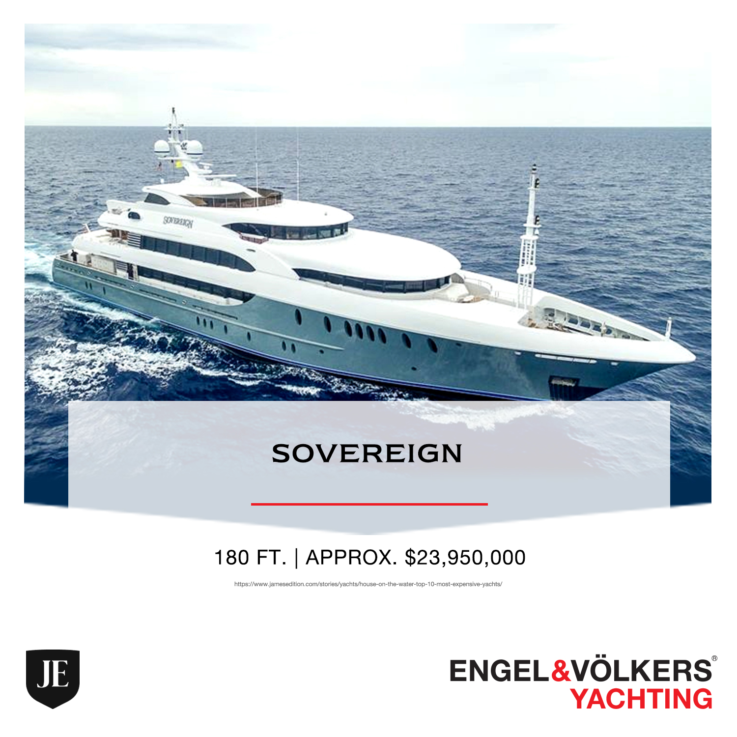 Sovereign BATEAU ENGEL & VOLKERS YACHTING