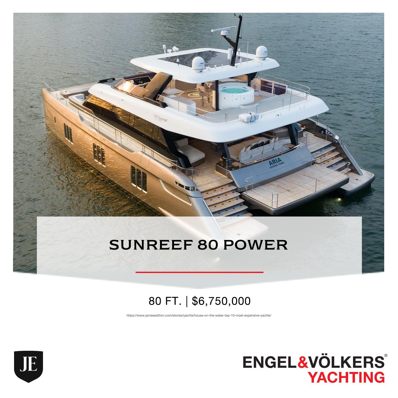 Sunreef 80 Power BATEAU ENGEL & VOLKERS YACHTING