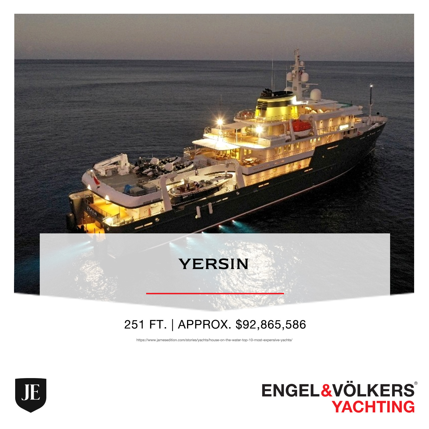 Yersin YACHT ENGEL & VOLKERS YACHTING