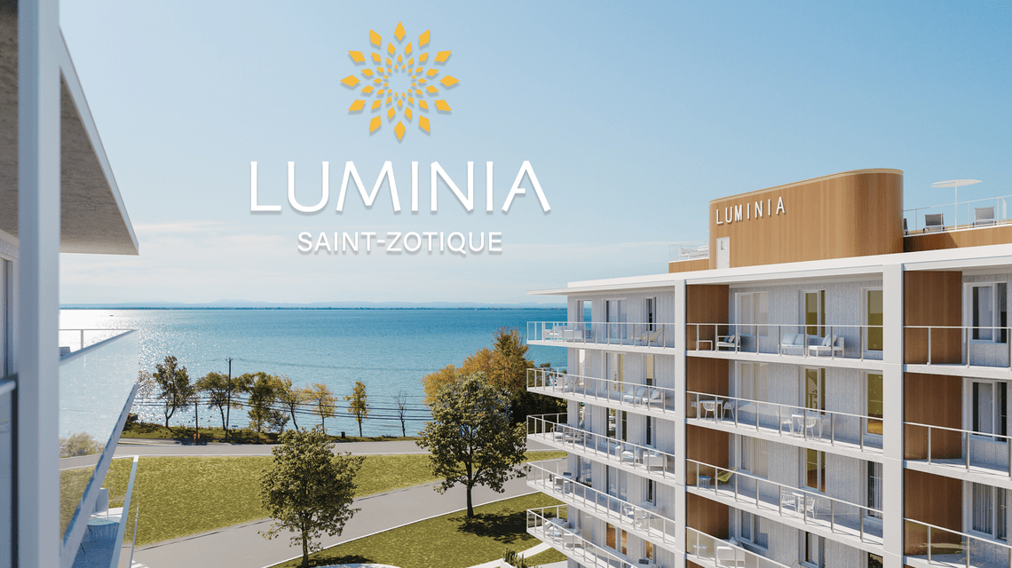 Luminia condos neufs st zotique phase deux