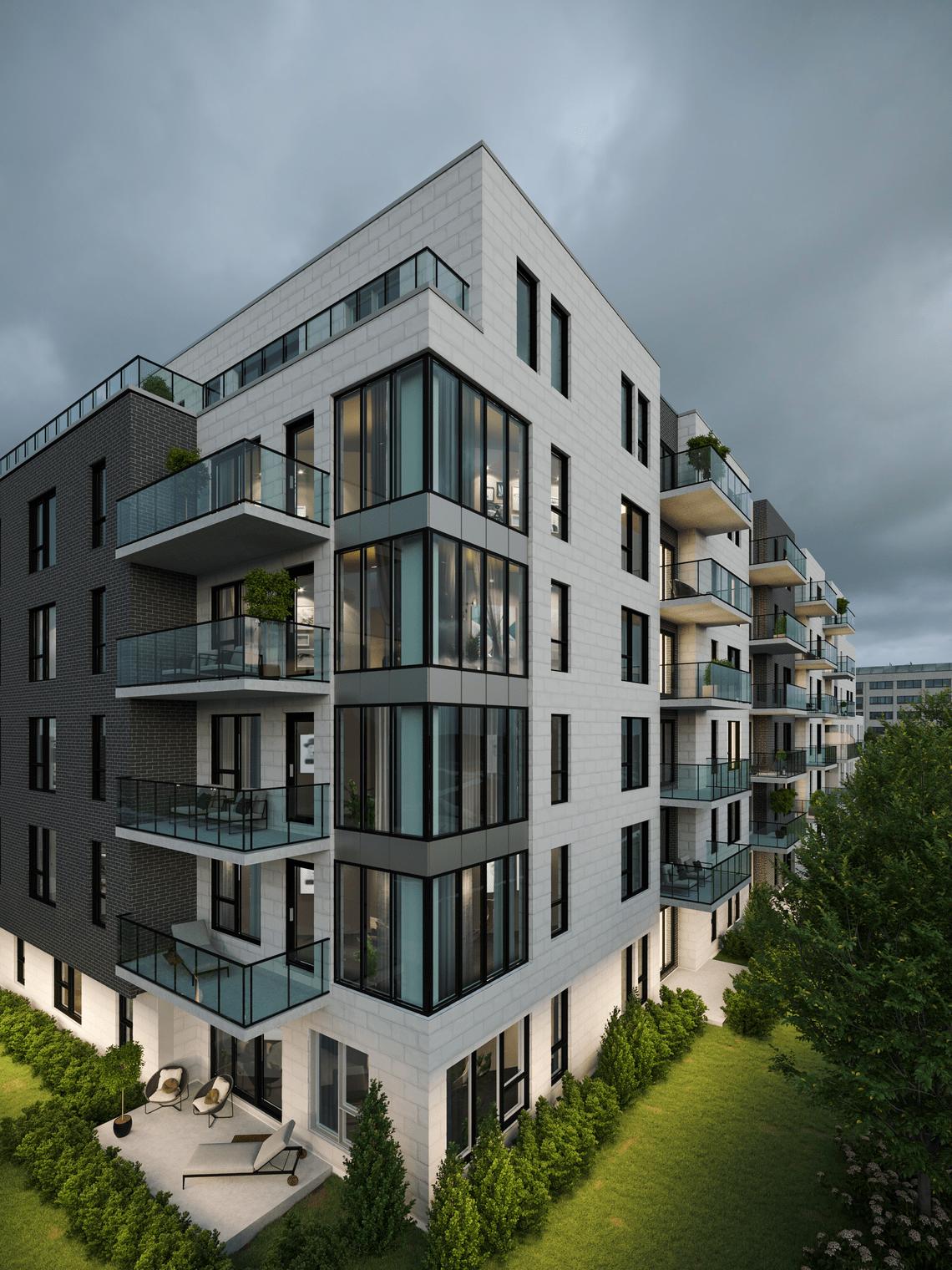 projet immobilier signature bois franc ville saint laurent
