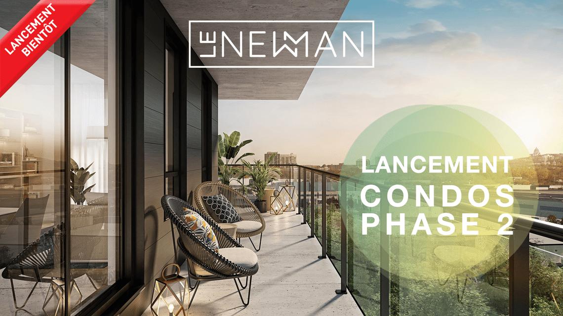 Nouveau condos projet Le Newman Lasalle