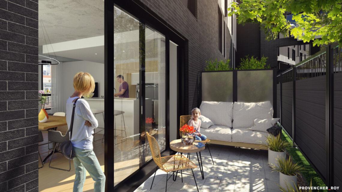 appartement a vendre HenriB pavillonGouin