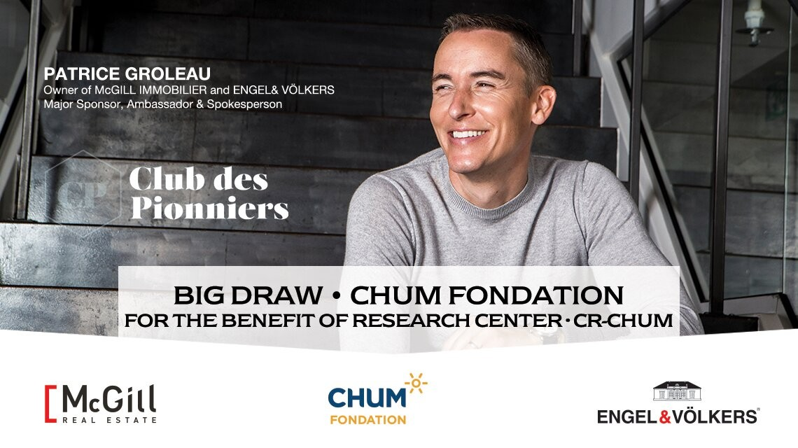 GRAND PRIZE DRAW| For the benefit of the CHUM Research Center