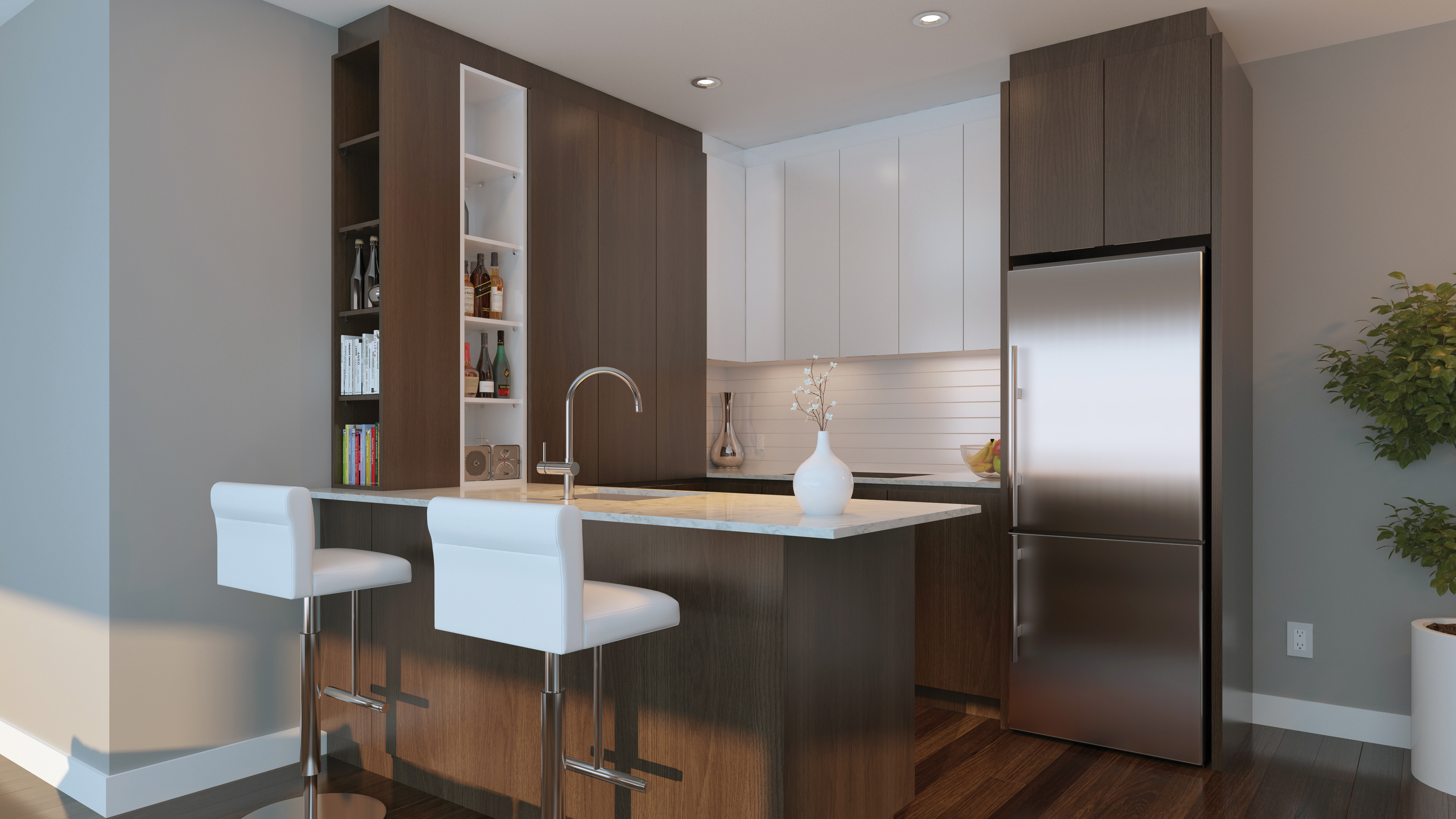 kitchen design montreal le beaumont condo ndg mcgill immobilier 990